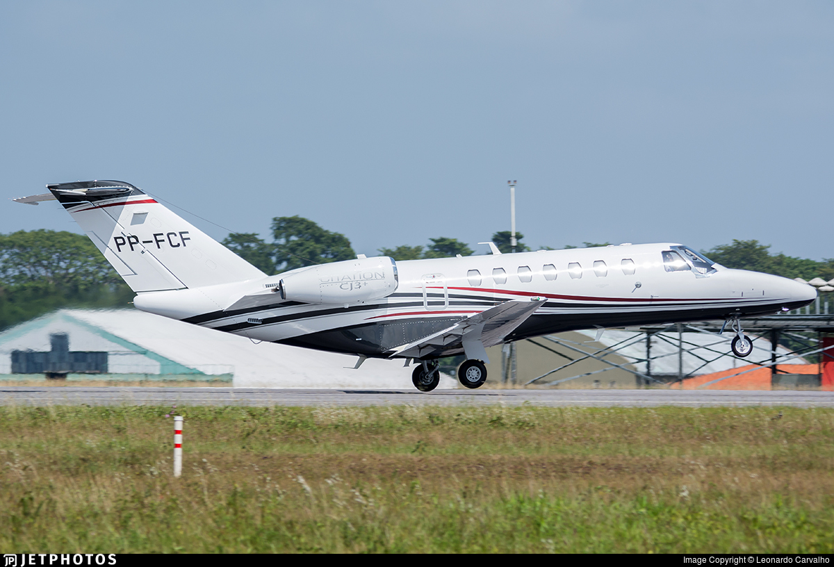 PP-FCF - Cessna 525B CitationJet 3+ - Private