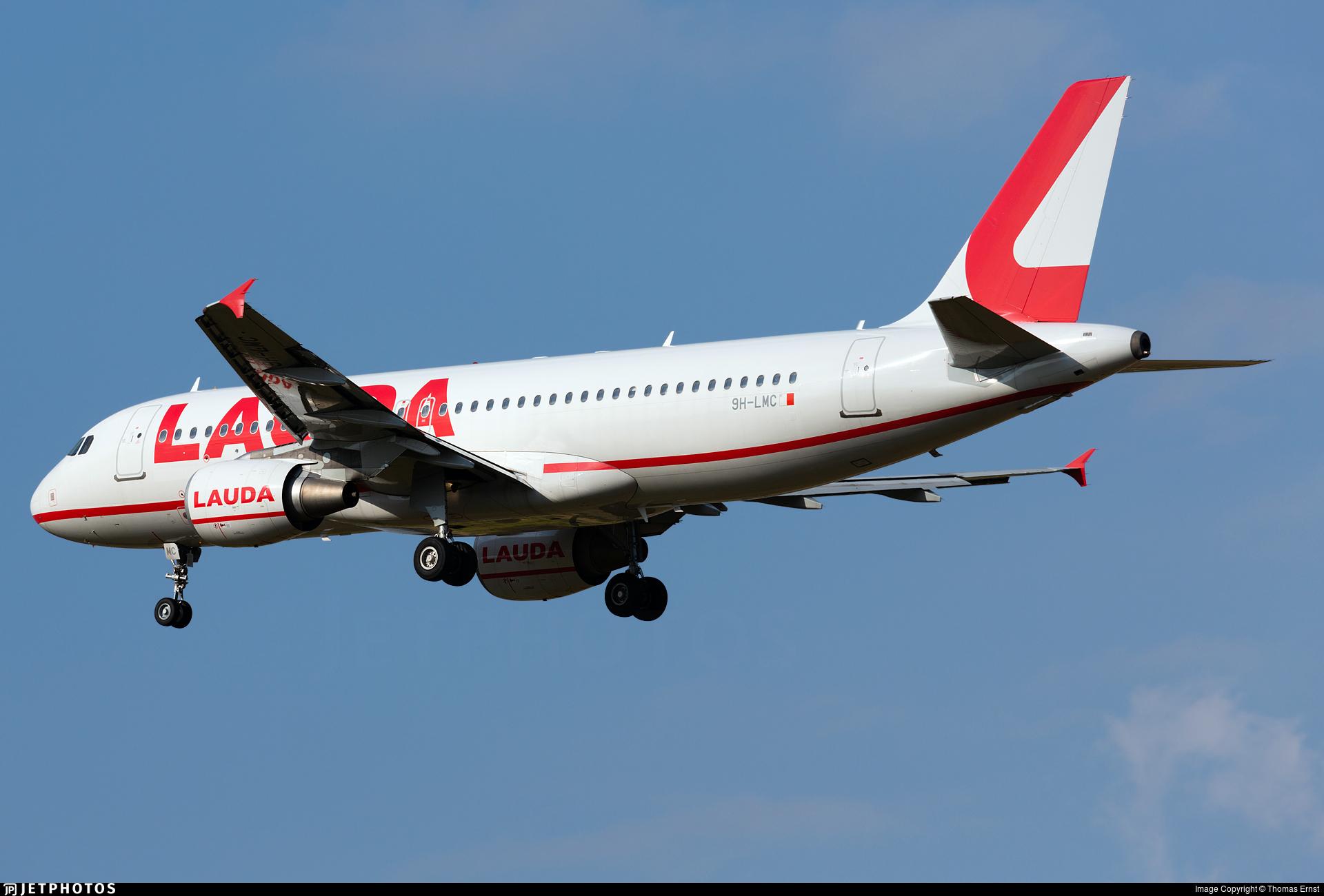 9H-LMC - Airbus A320-214 - Lauda Europe