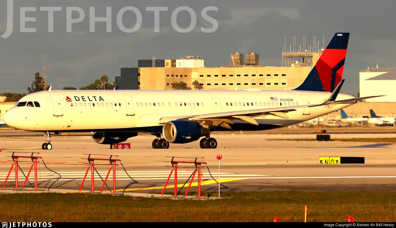 N396DN - Airbus A321-211 - Delta Air Lines