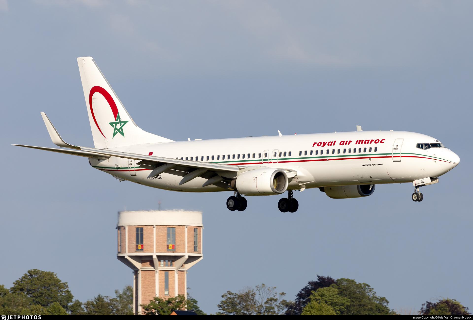 CN-ROE - Boeing 737-8B6 - Royal Air Maroc (RAM)
