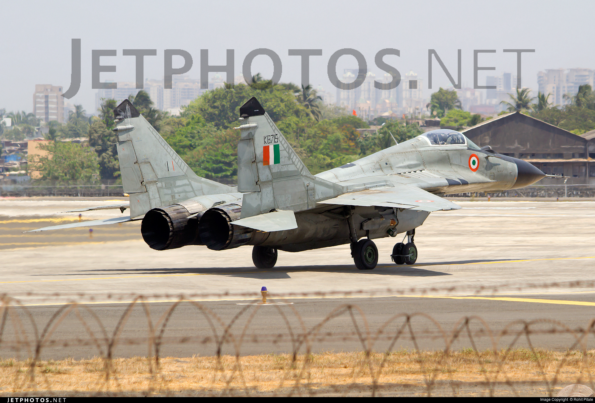 KB715 | Mikoyan-Gurevich MiG-29 Fulcrum | India - Air Force