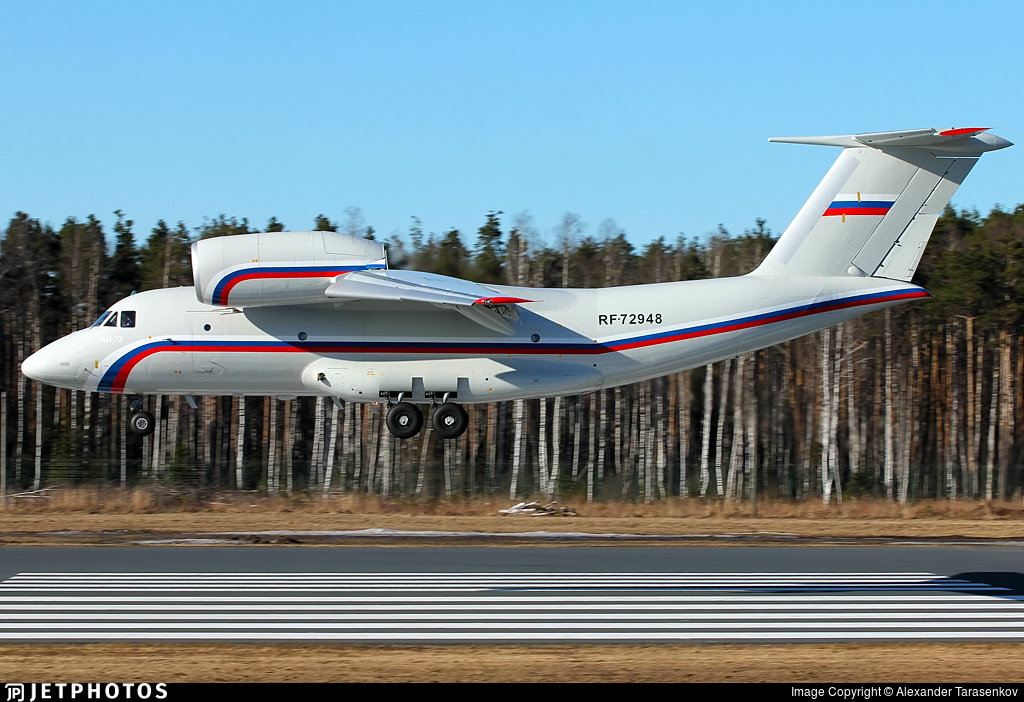 RF-72948 - Antonov An-72 - Russia - Air Force