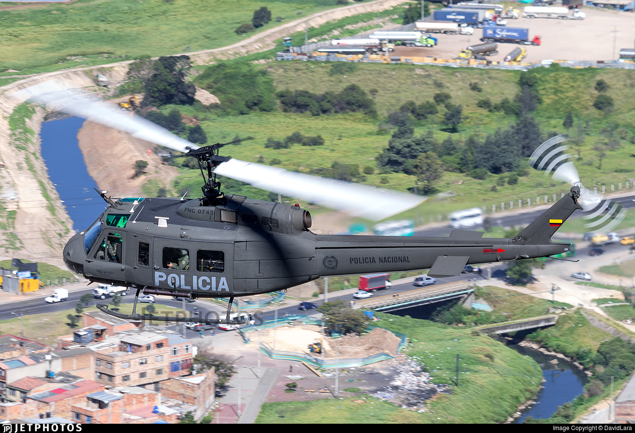 PNC0745 - Bell UH-1H Huey II - Colombia - Police