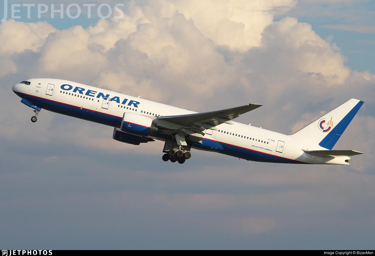 VP-BHB - Boeing 777-2Q8(ER) - Orenair