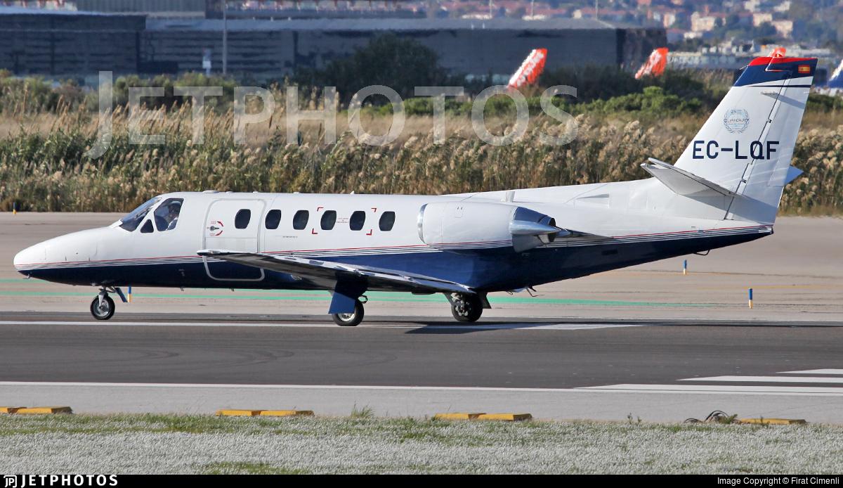 EC-LQF - Cessna S550 Citation SII - Private