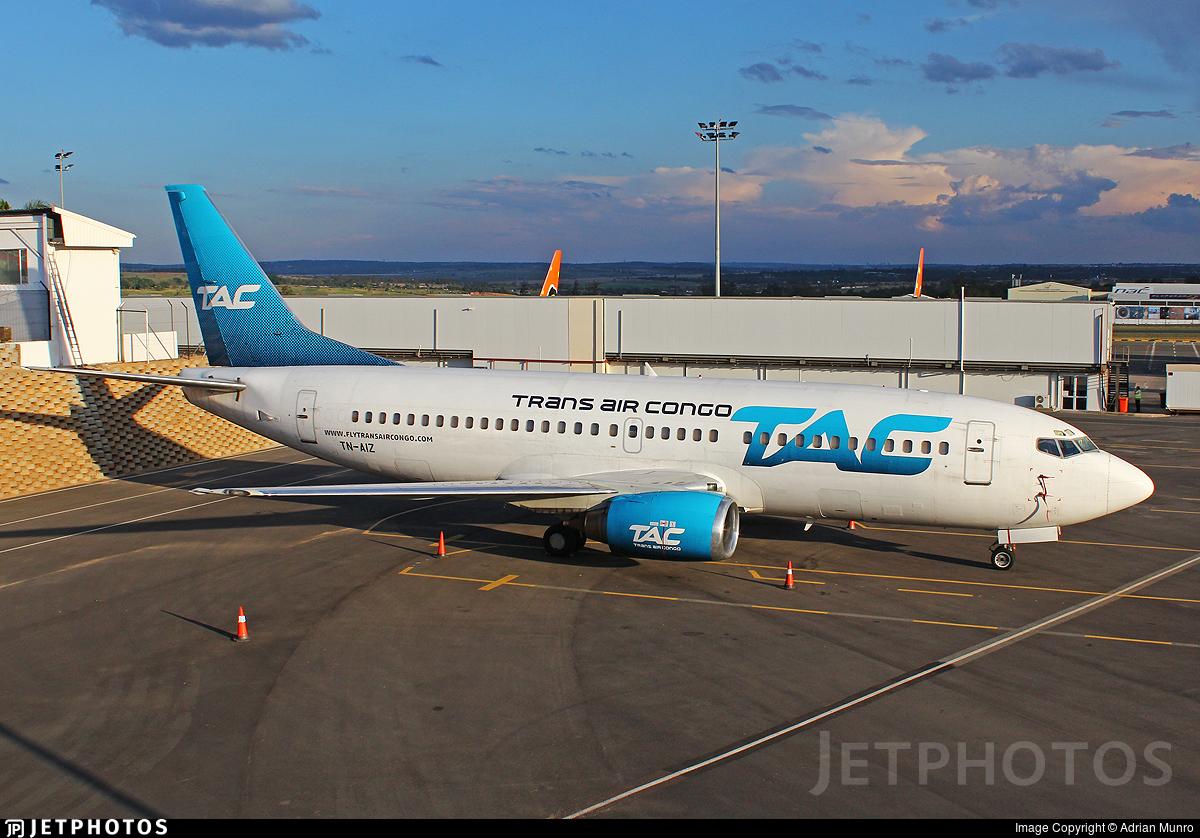 TN-AIZ - Boeing 737-33A - Trans Air Congo