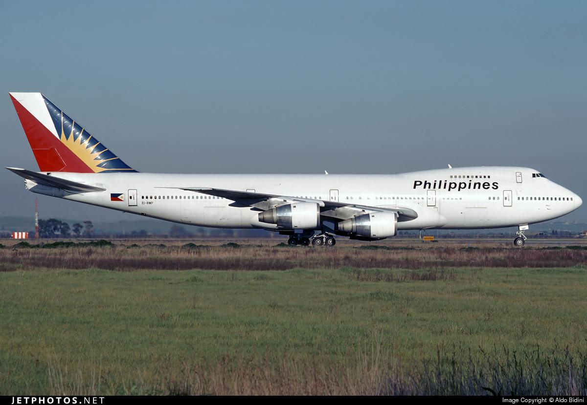 EI-BWF - Boeing 747-283B(M) - Philippine Airlines