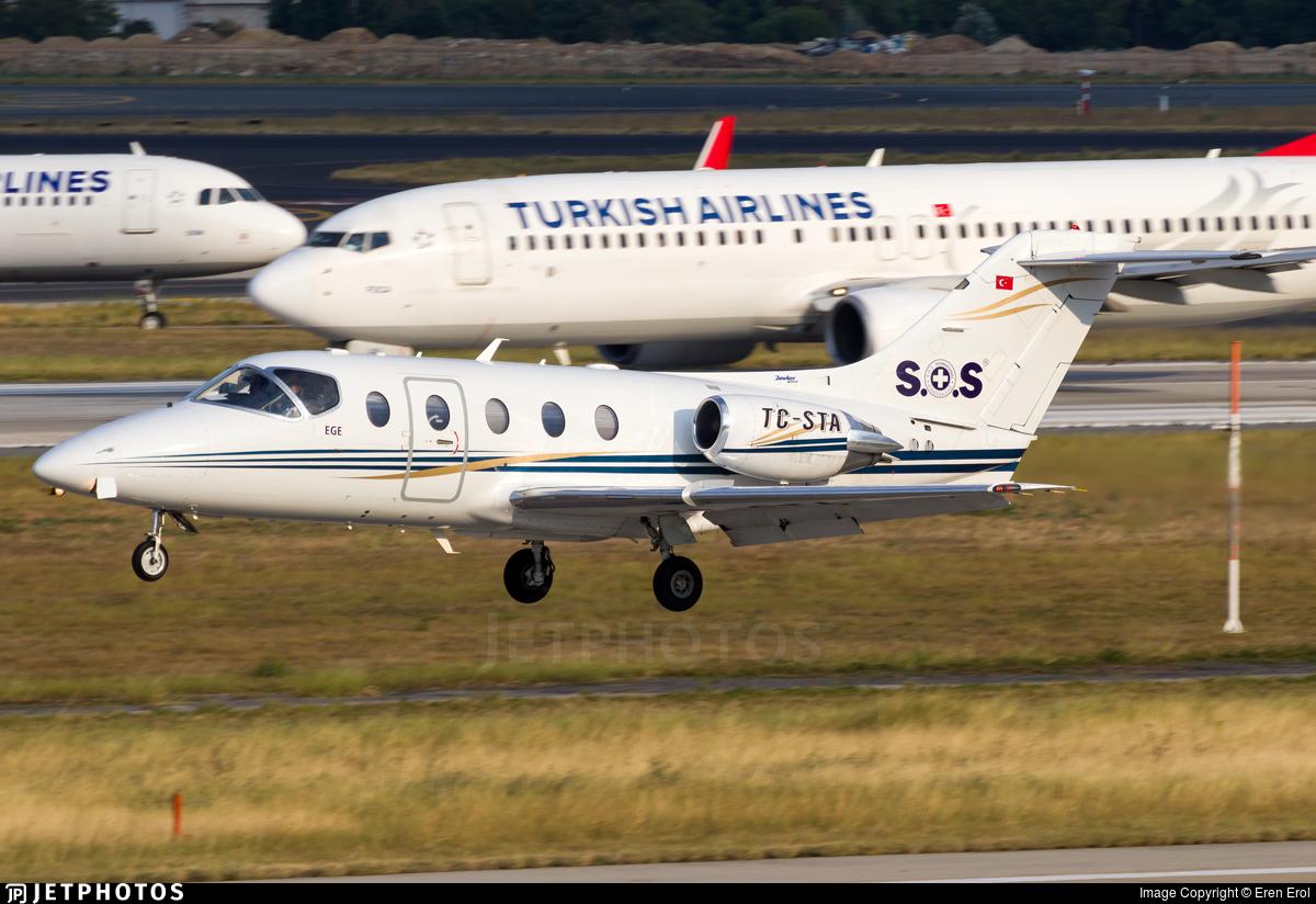 TC-STA - Beechcraft 400A Beechjet - Sertur Air