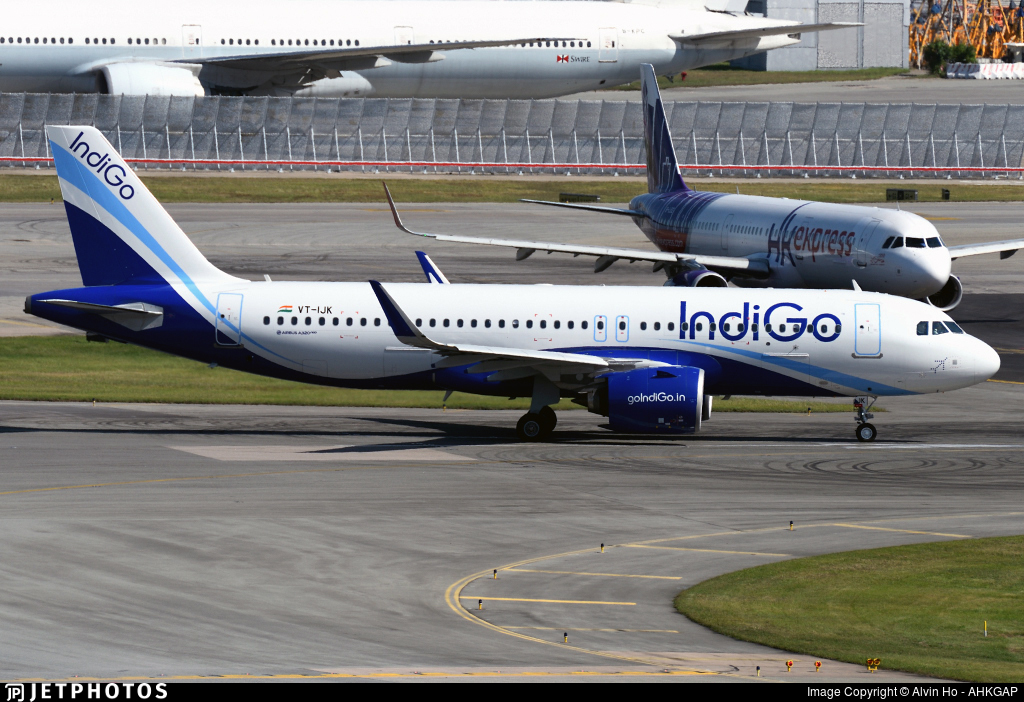 VT-IJK - Airbus A320-271N - IndiGo Airlines