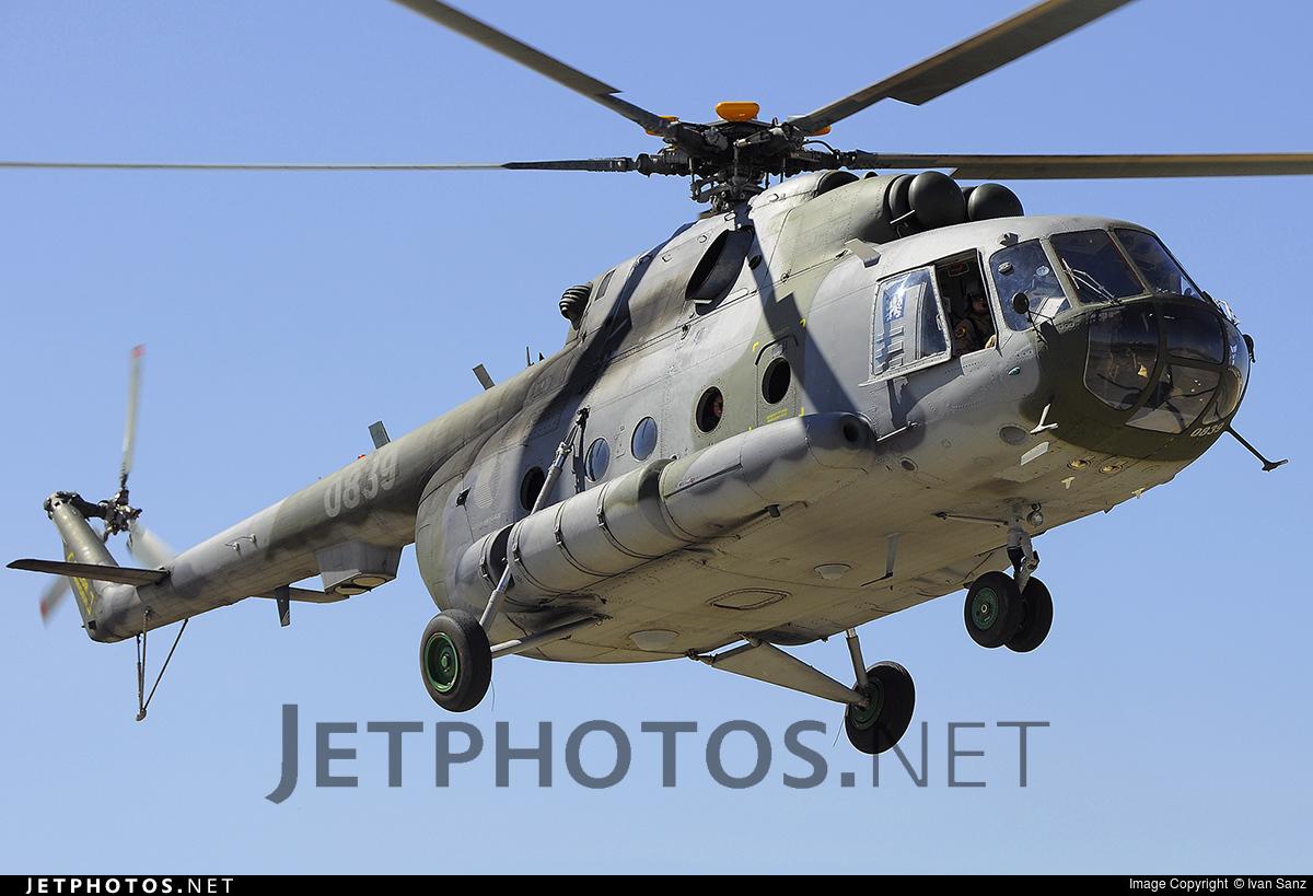 0839 - Mil Mi-171Sh-P - Czech Republic - Air Force