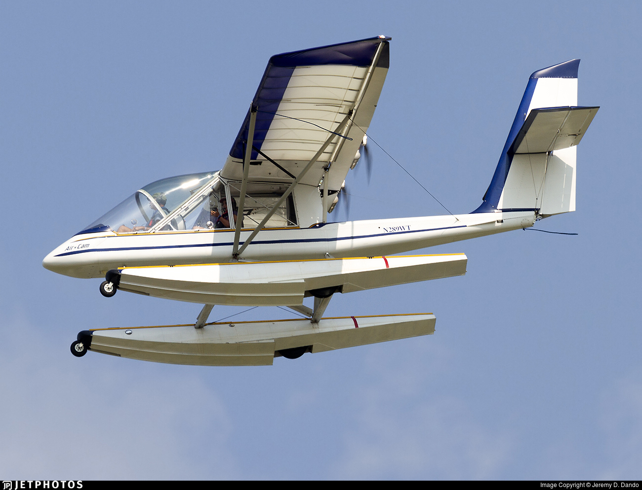 N289WT - Leza-Lockwood AirCam  - Private