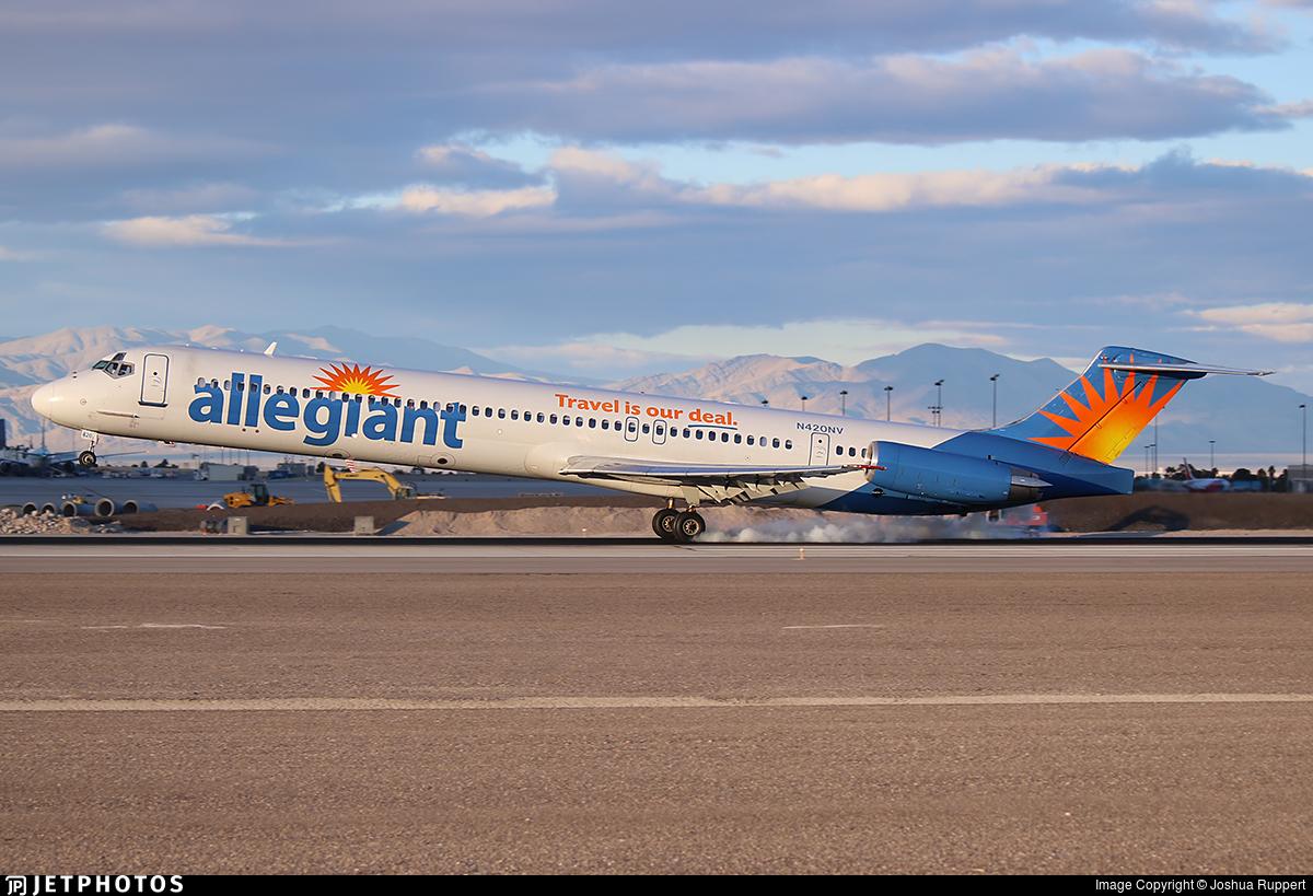 N420NV - McDonnell Douglas MD-83 - Allegiant Air