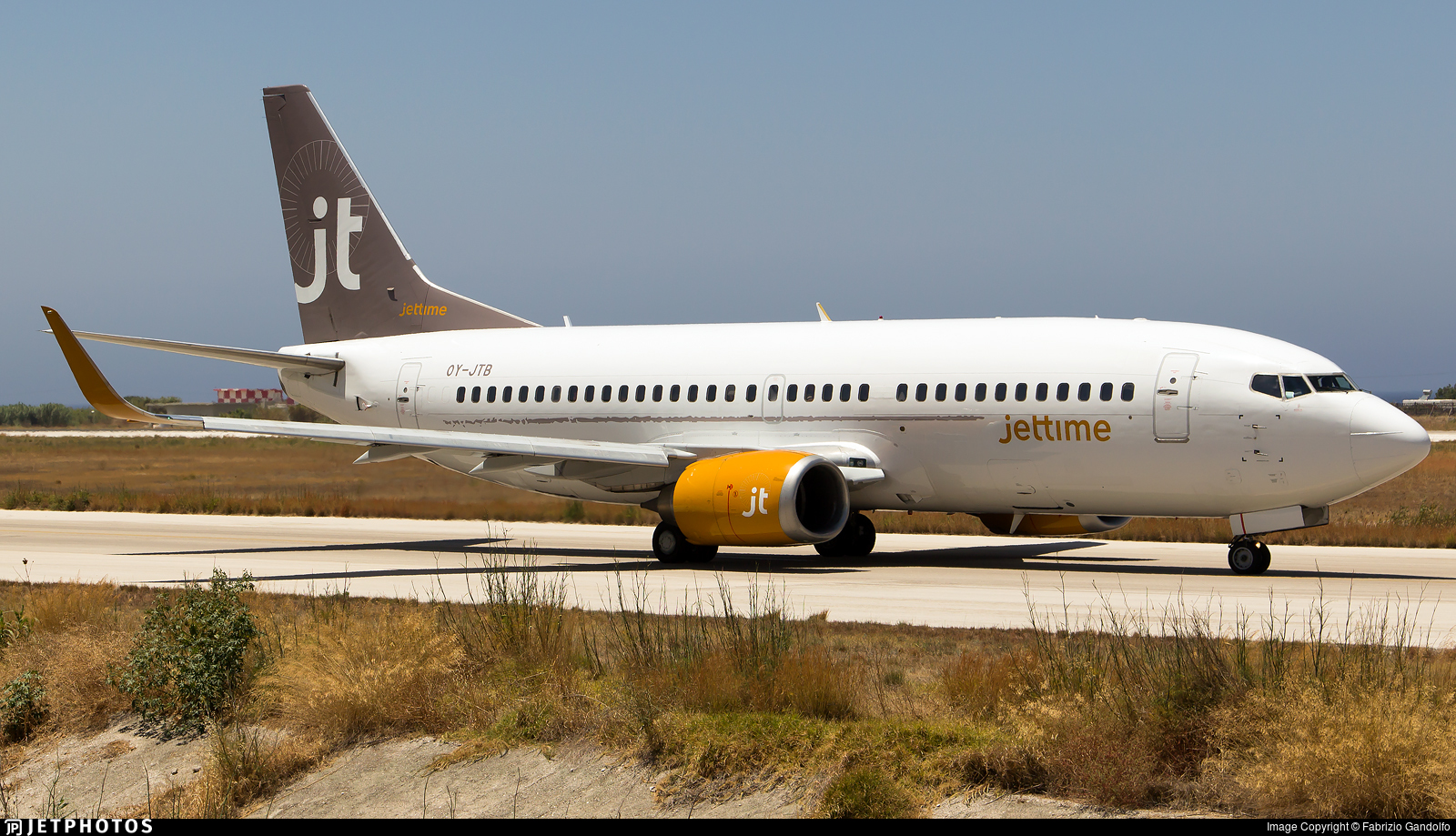 OY-JTB - Boeing 737-3Y0 - Jettime