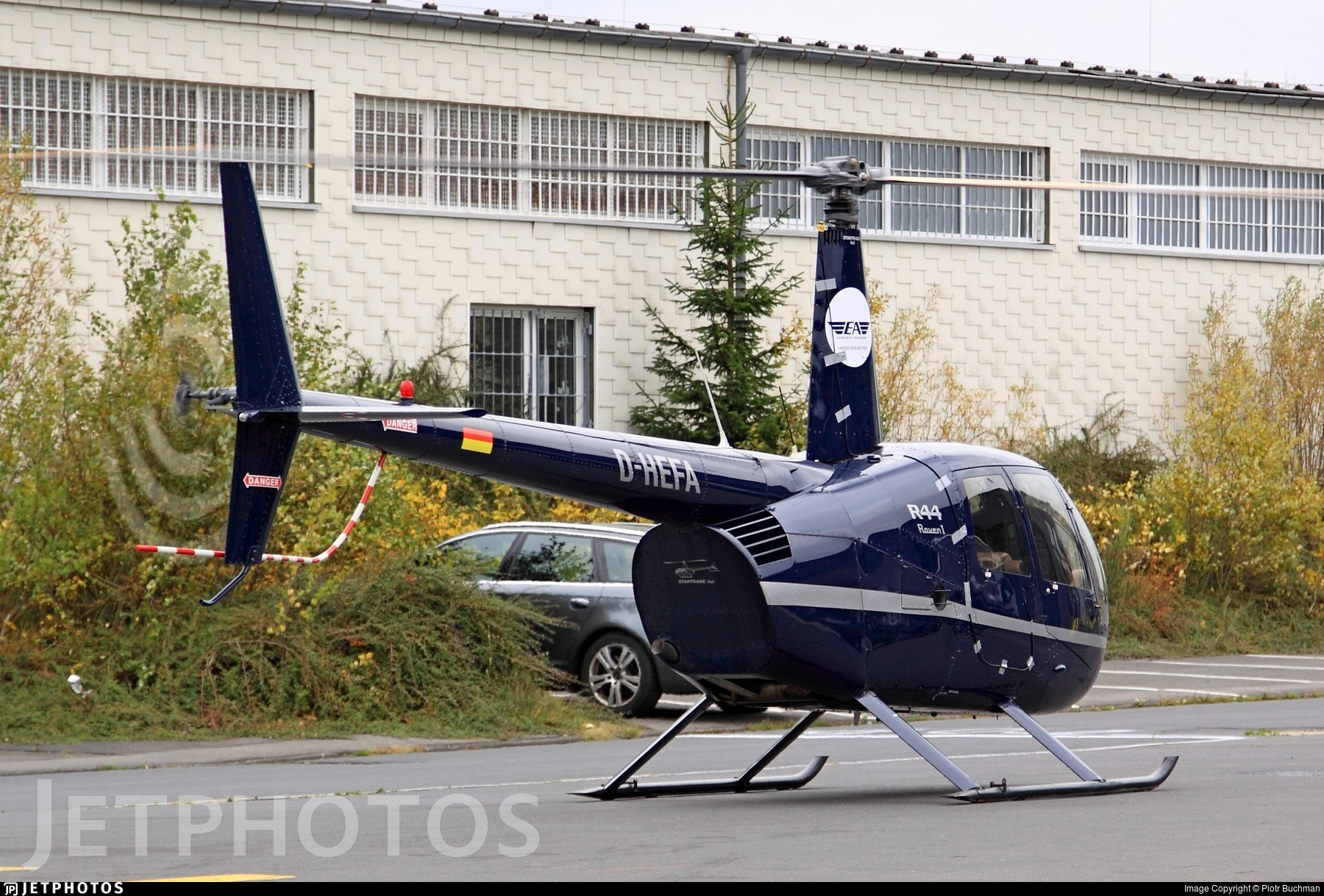D-HEFA - Robinson R44 Raven - Eurofly Aviation