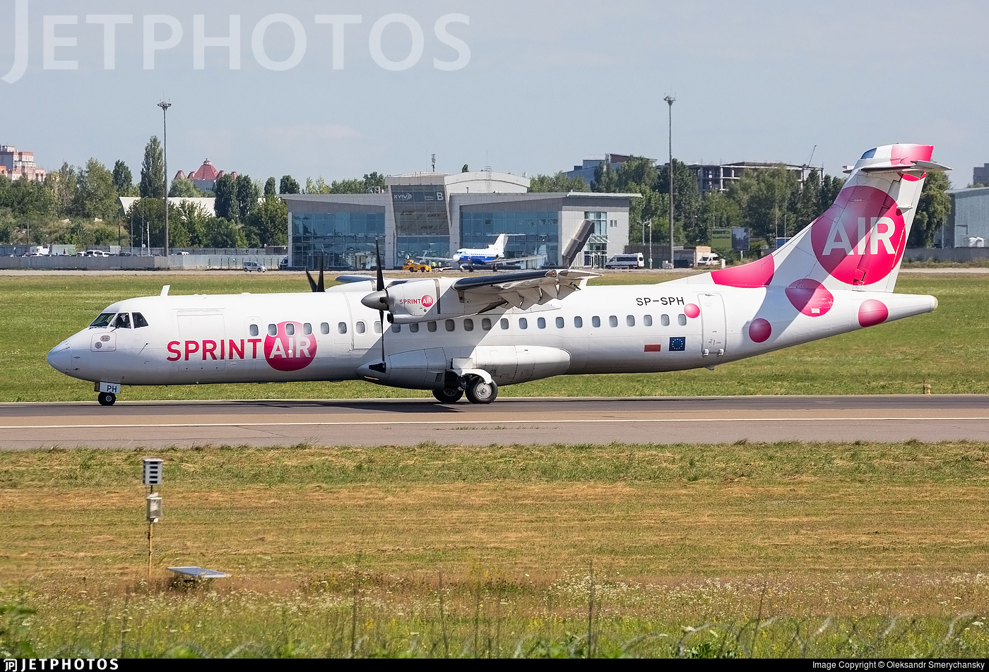 SP-SPH - ATR 72-202(F) - SprintAir