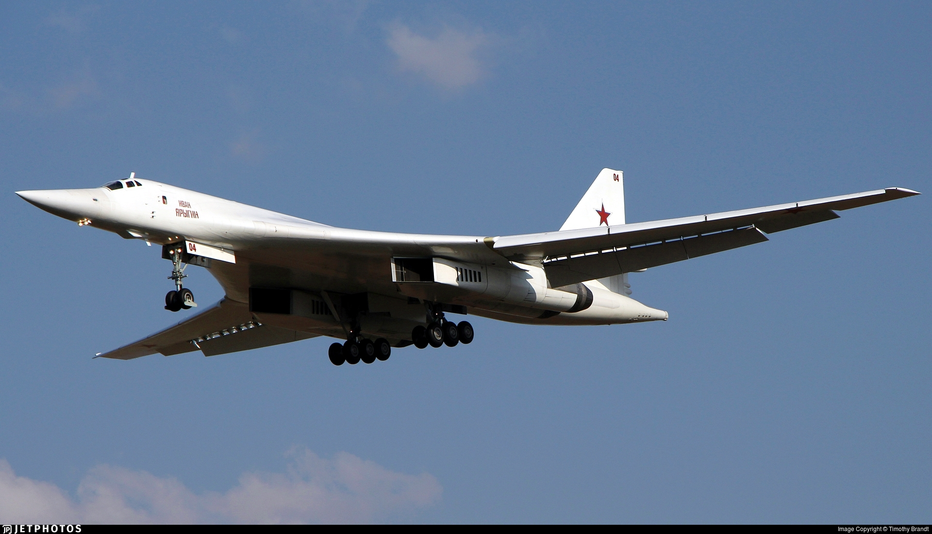 RF-94112 | Tupolev Tu-160 Blackjack | Russia - Air Force | Timothy ...