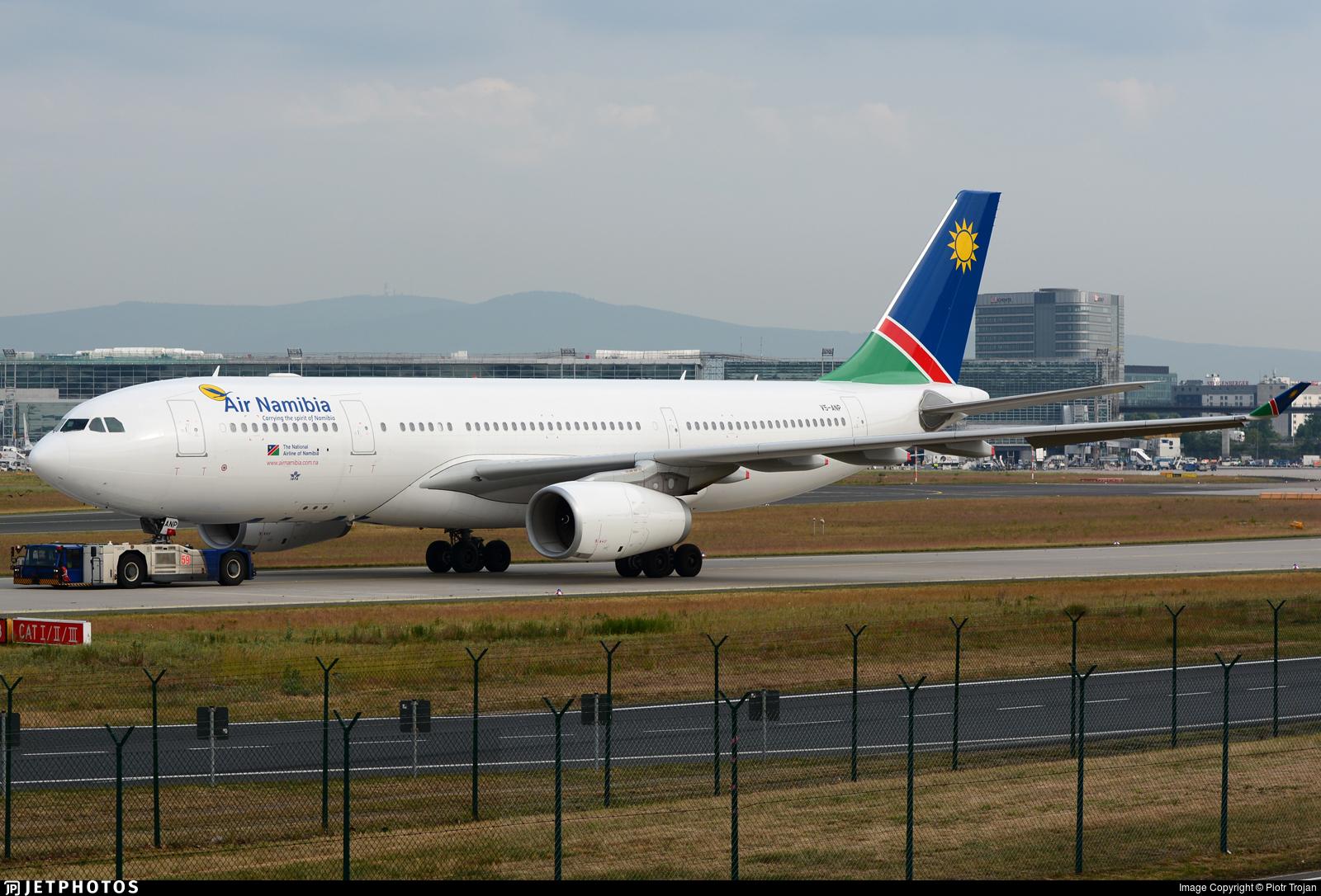V5-ANP - Airbus A330-243 - Air Namibia