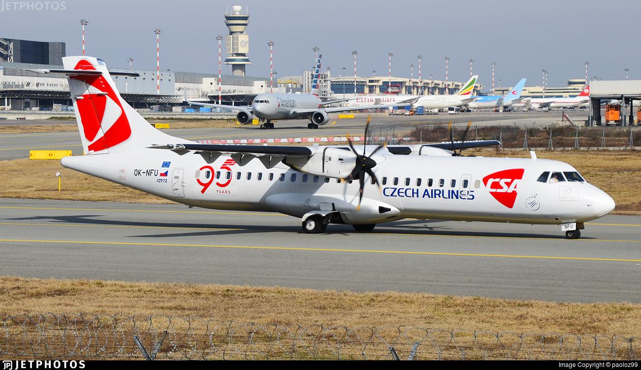 OK-NFU - ATR 72-212A(500) - CSA Czech Airlines