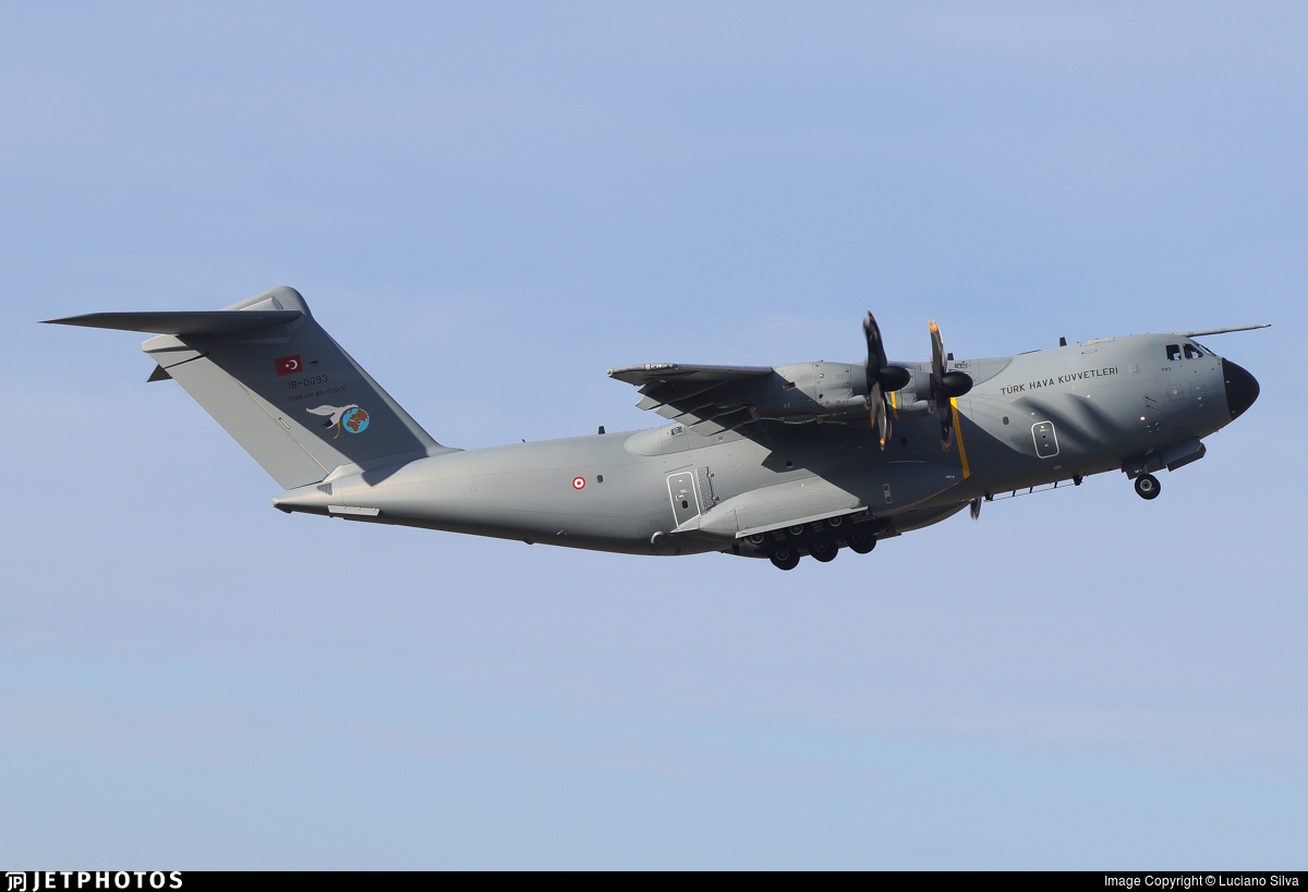 18-0093 - Airbus A400M - Turkey - Air Force