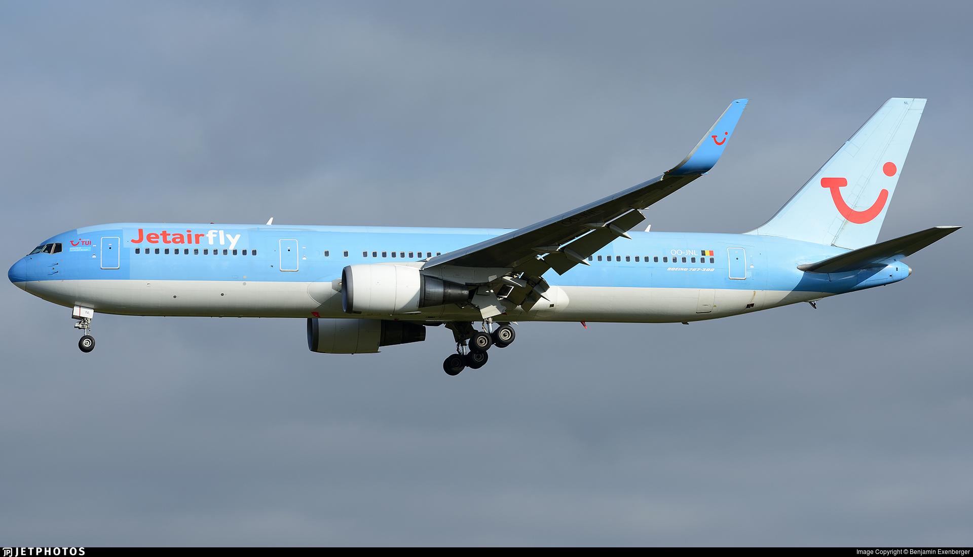 OO-JNL - Boeing 767-304(ER) - Jetairfly