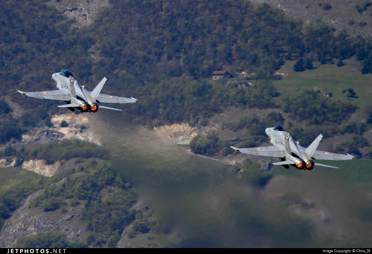 J-5236 - McDonnell Douglas F/A-18D Hornet - Switzerland - Air Force