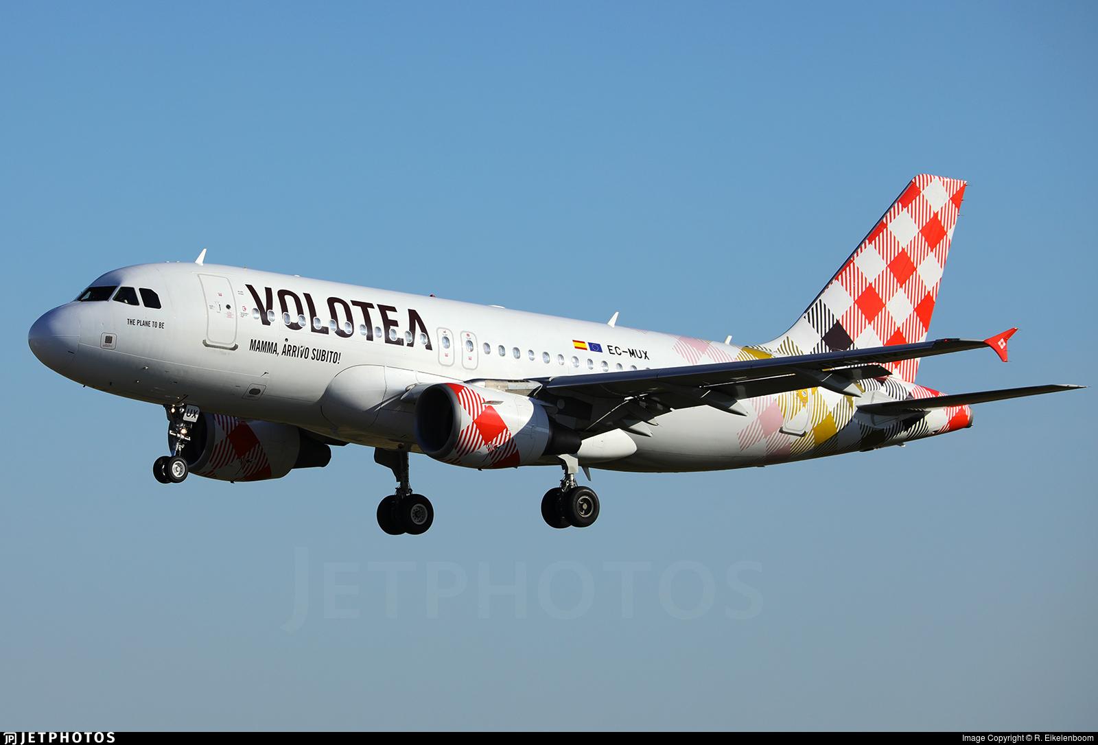 EC-MUX - Airbus A319-111 - Volotea