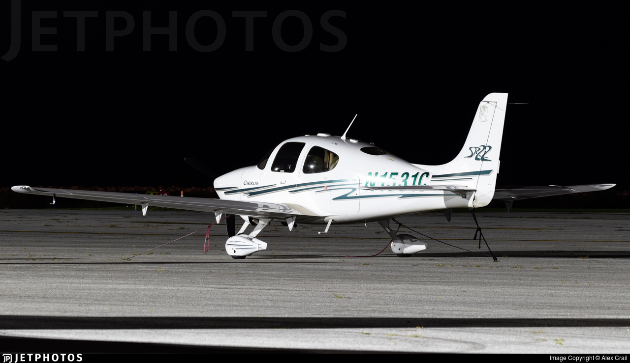 N1531C - Cirrus SR22 G2 - Private
