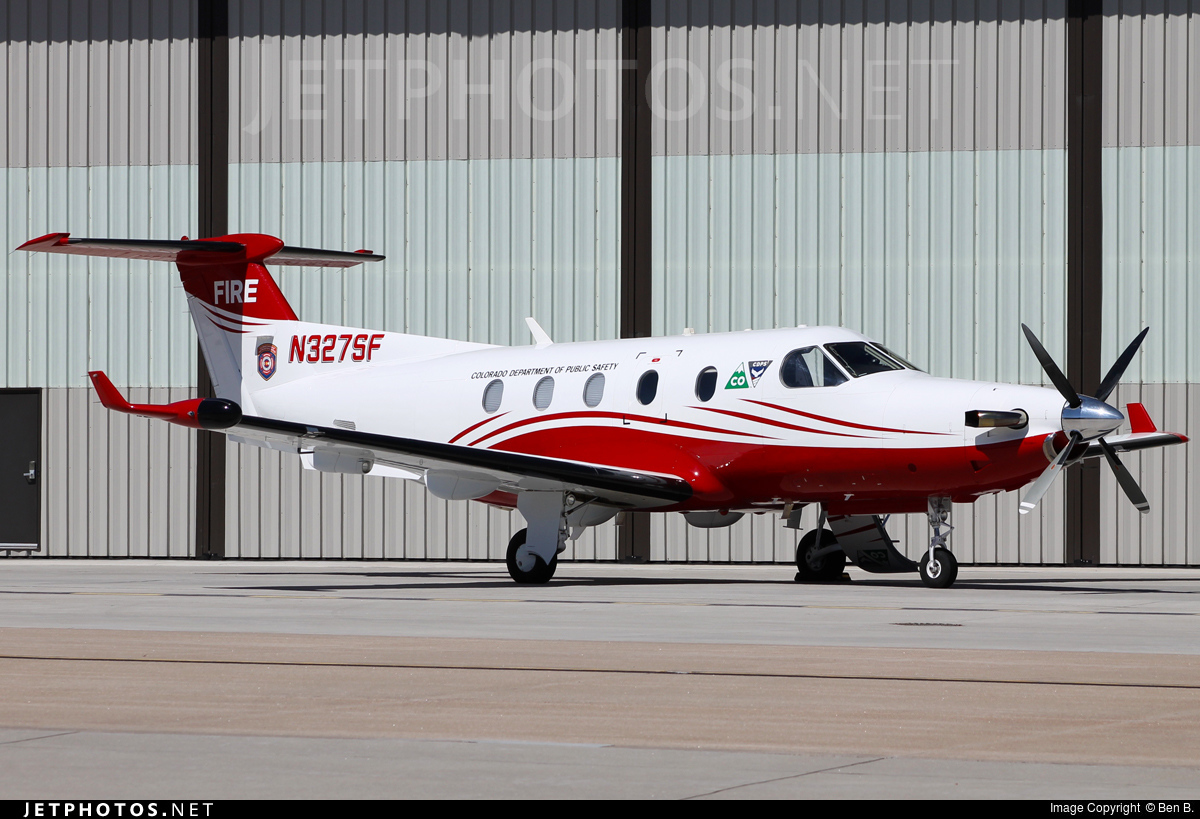 N327SF - Pilatus PC-12/45 - United States - Government
