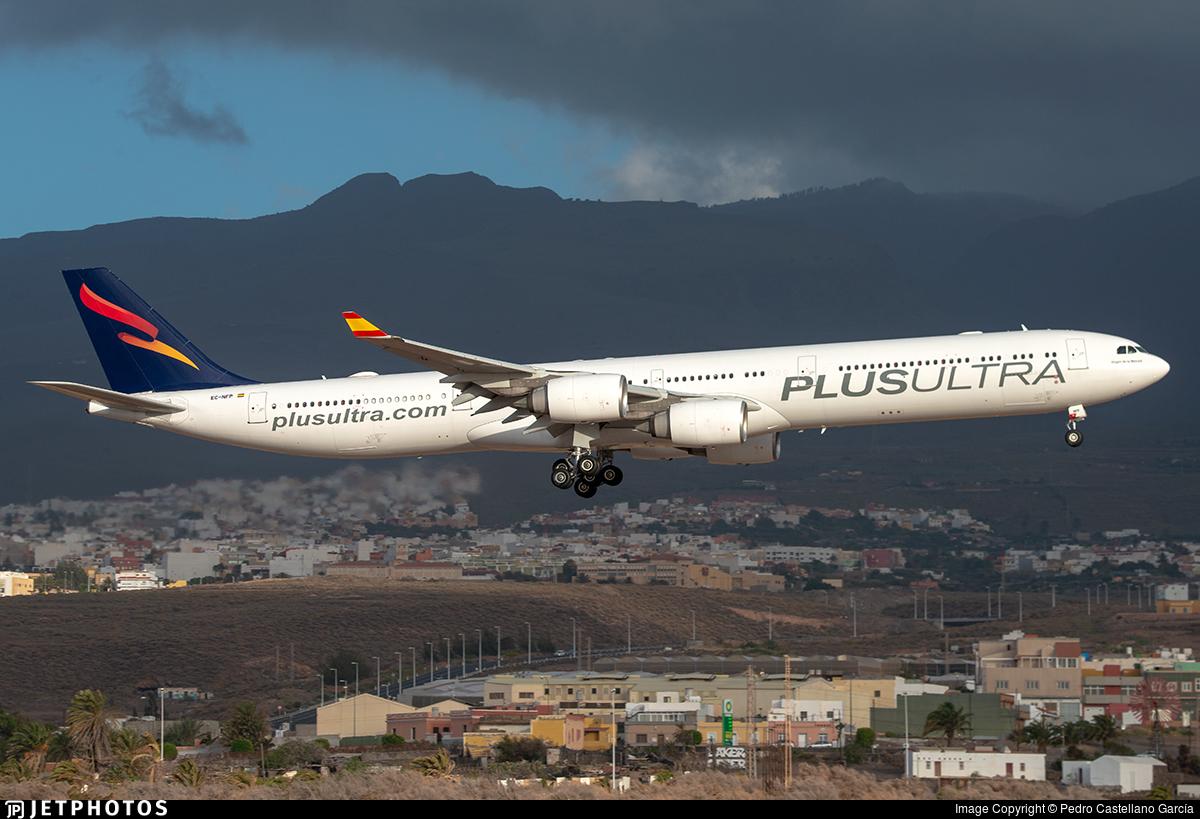 EC-NFP - Airbus A340-642 - Plus Ultra Líneas Aéreas