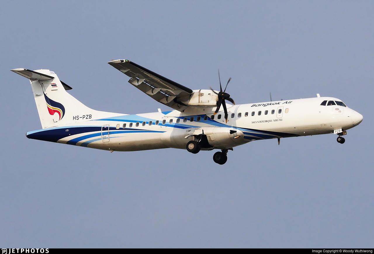 HS-PZB - ATR 72-212A(600) - Bangkok Airways