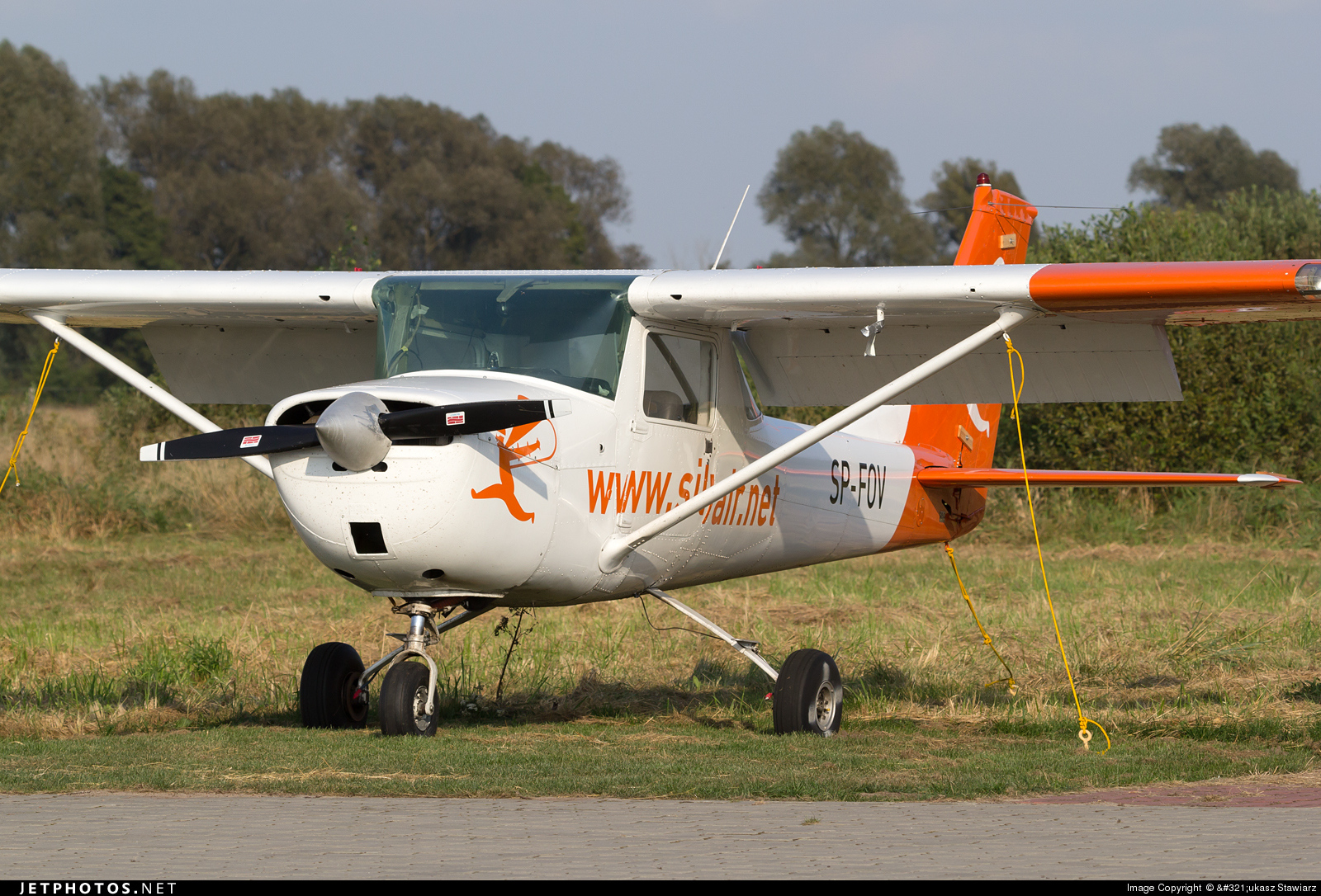SP-FOV - Reims-Cessna F150K - Silvair