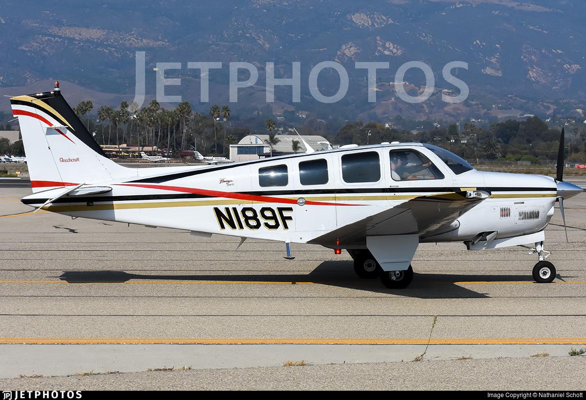 N189F - Beechcraft B36TC Bonanza - Private