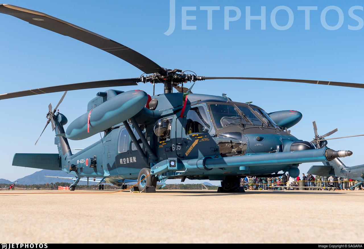 88-4605 - Mitsubishi UH-60J - Japan - Air Self Defence Force (JASDF)