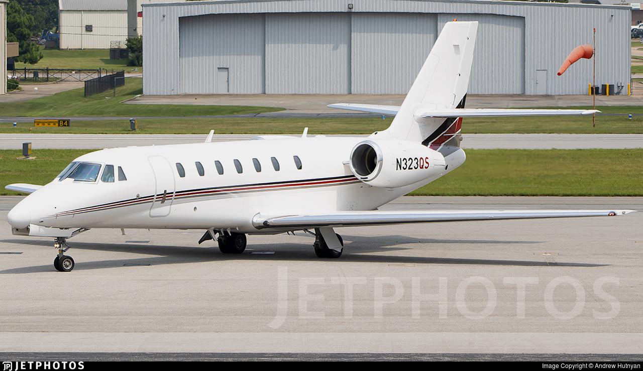 N323QS - Cessna 680 Citation Sovereign - NetJets Aviation