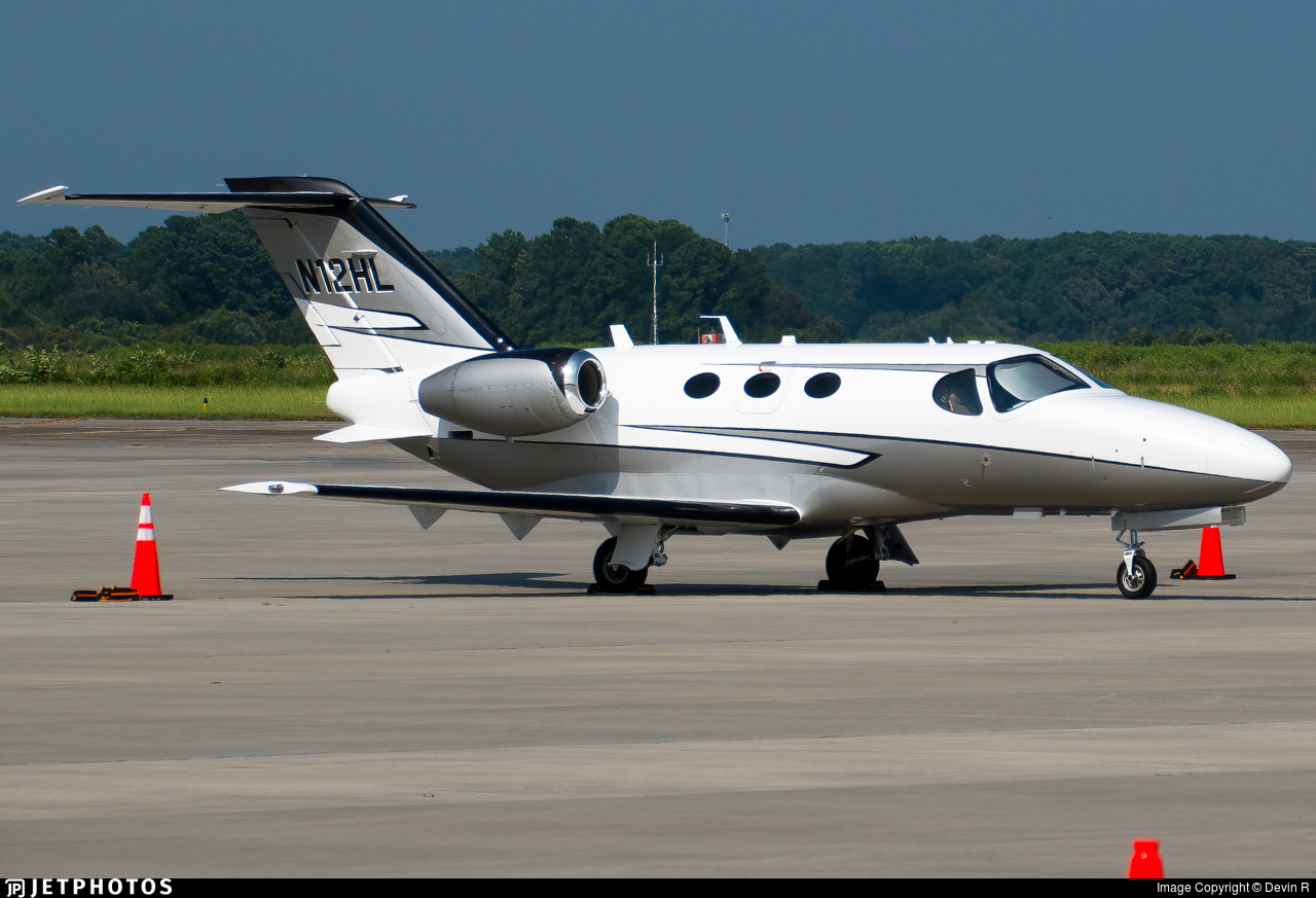N12HL - Cessna 510 Citation Mustang - Private