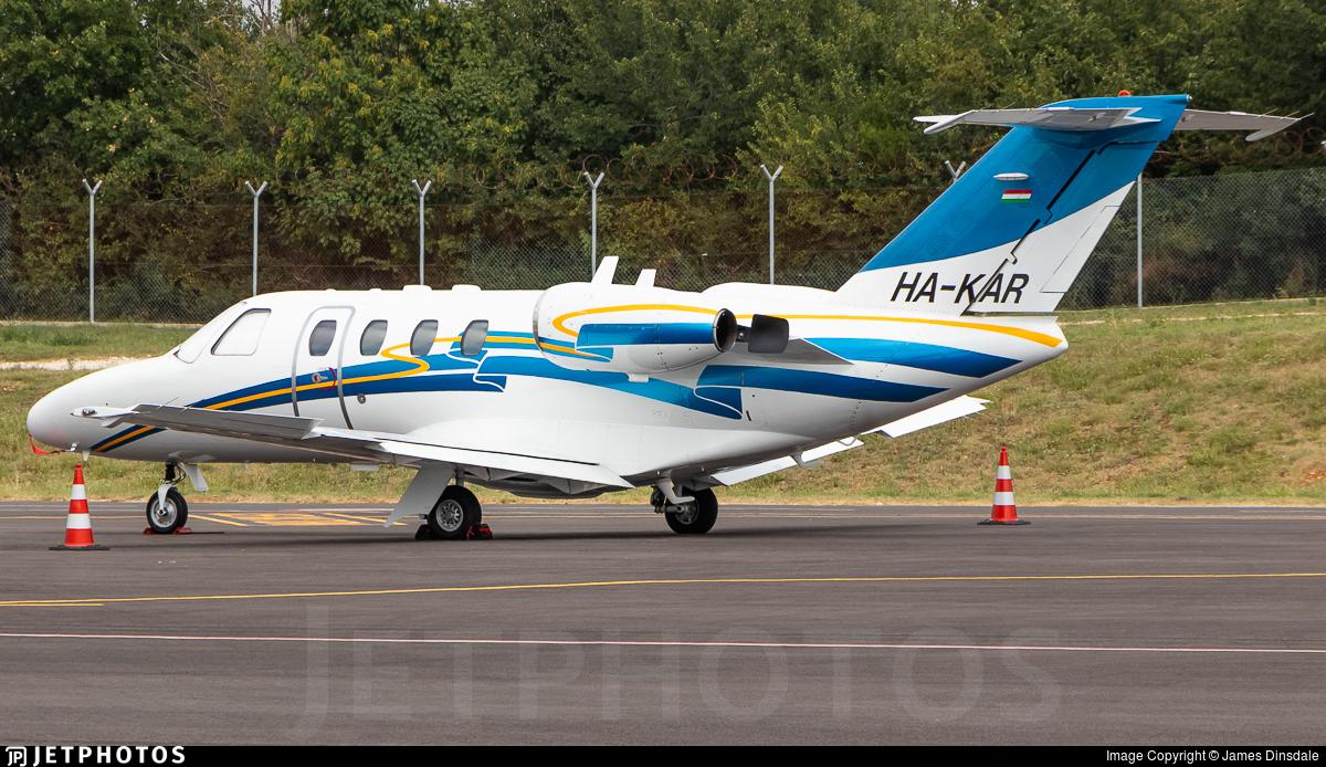 HA-KAR - Cessna 525 Citationjet CJ1 - Private