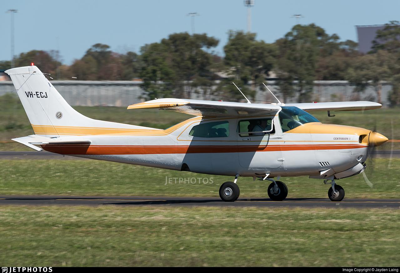 VH-ECJ - Cessna 210N Centurion II - Private