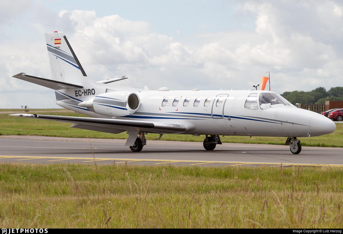 EC-HRO - Cessna 550B Citation Bravo - Executive Airlines