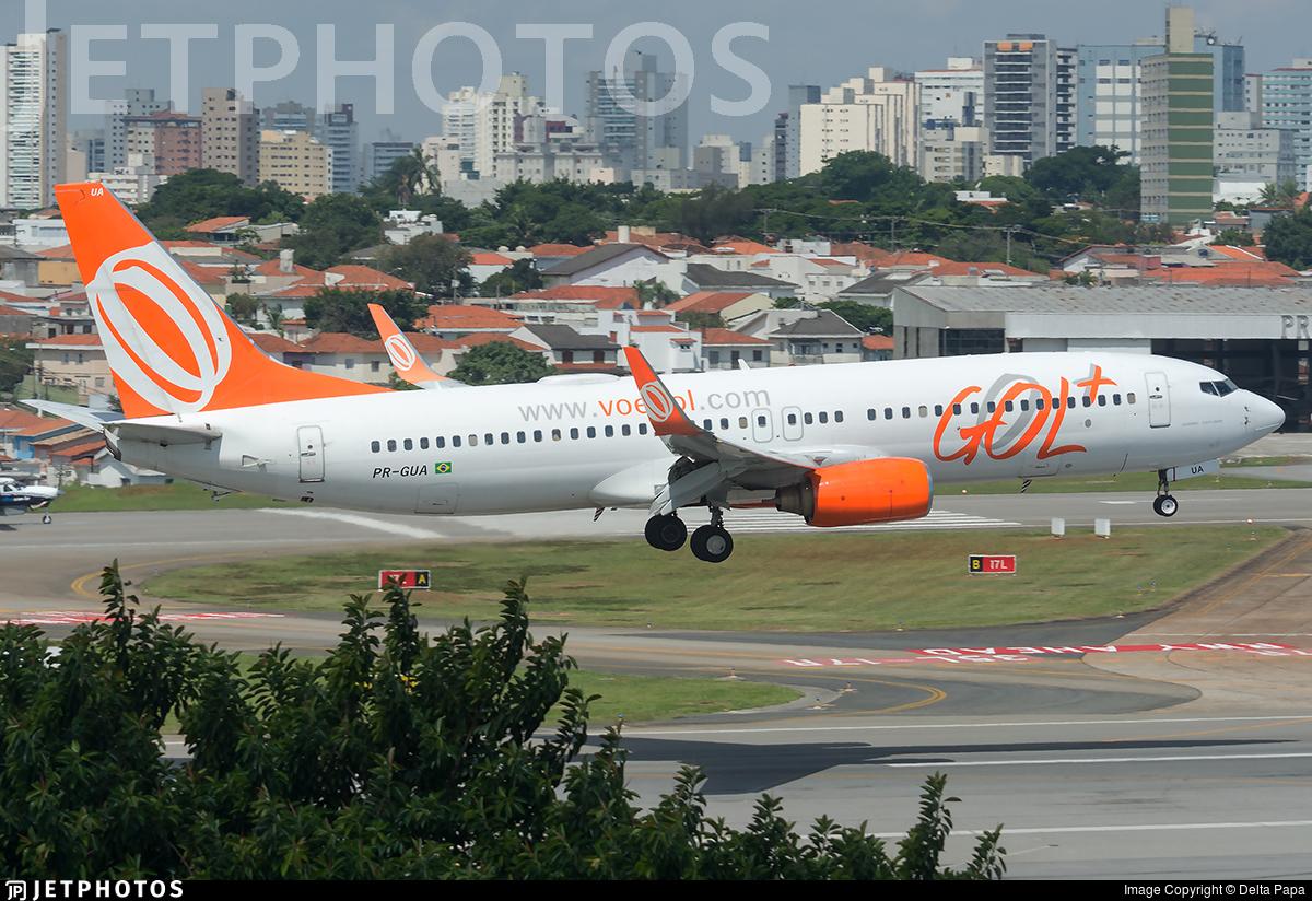 PR-GUA - Boeing 737-8EH - GOL Linhas Aéreas