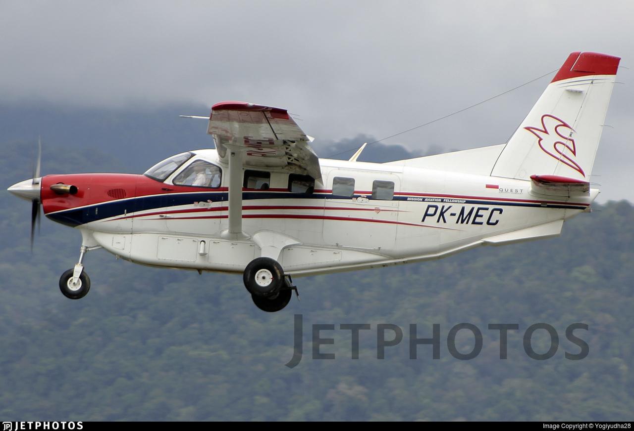 PK-MEC - Quest Aircraft Kodiak 100 - Mission Aviation Fellowship (MAF)