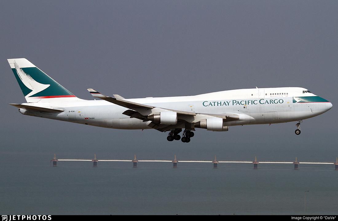 B-KAI - Boeing 747-412(BCF) - Cathay Pacific Cargo