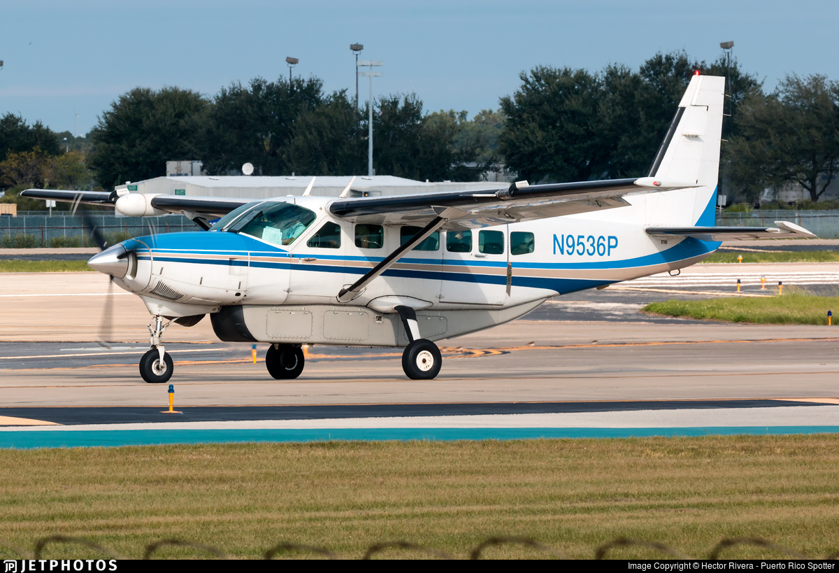 N9536P - Cessna 208 Caravan - Private