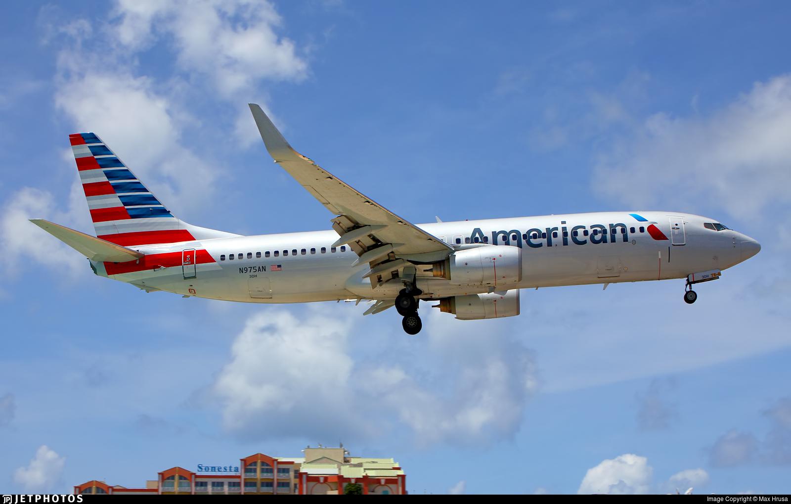N975AN - Boeing 737-823 - American Airlines