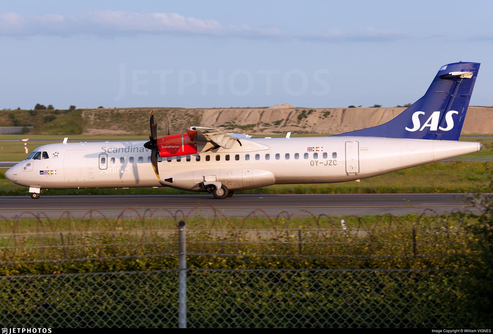 OY-JZC - ATR 72-212A(600) - Scandinavian Airlines (Jettime)