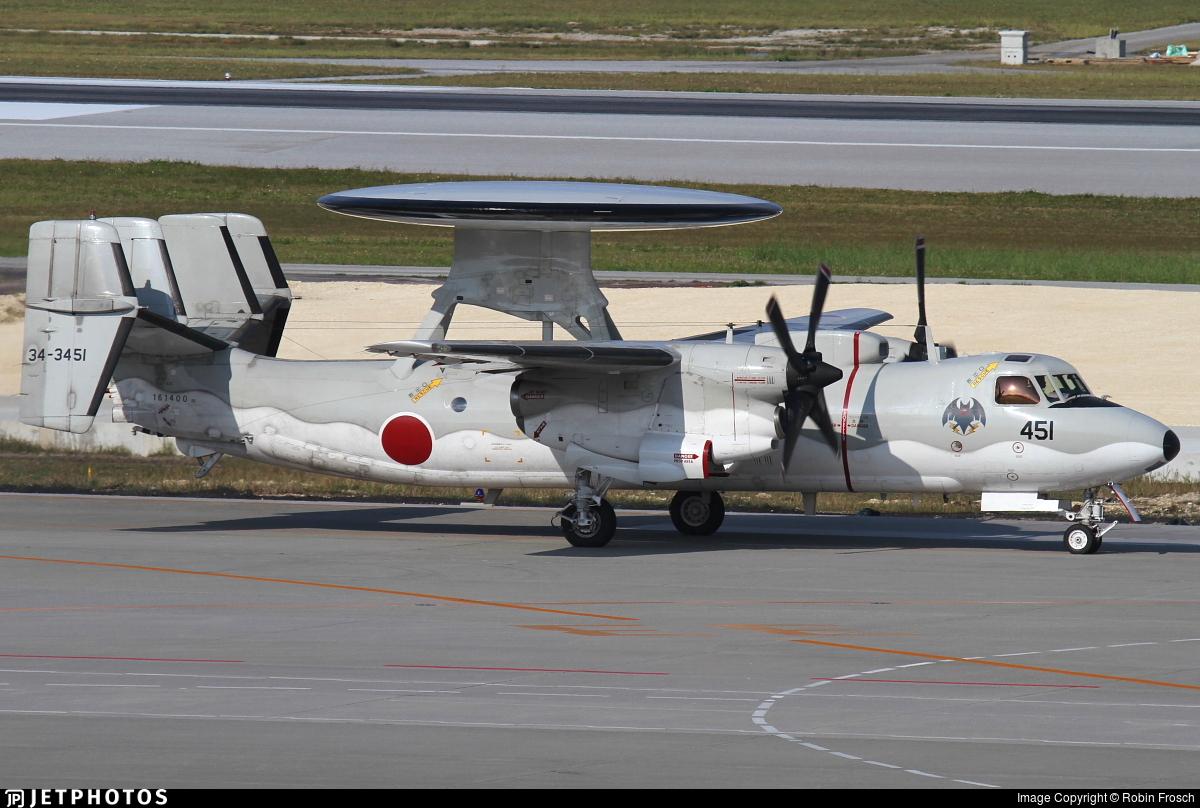 34-3451 - Grumman E-2C Hawkeye - Japan - Air Self Defence Force (JASDF)