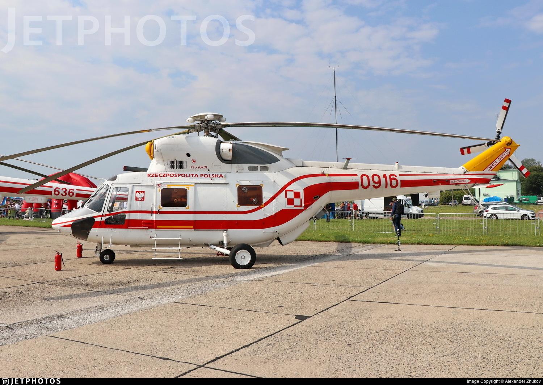 0916 - PZL-Swidnik W3A Sokol - Poland - Air Force