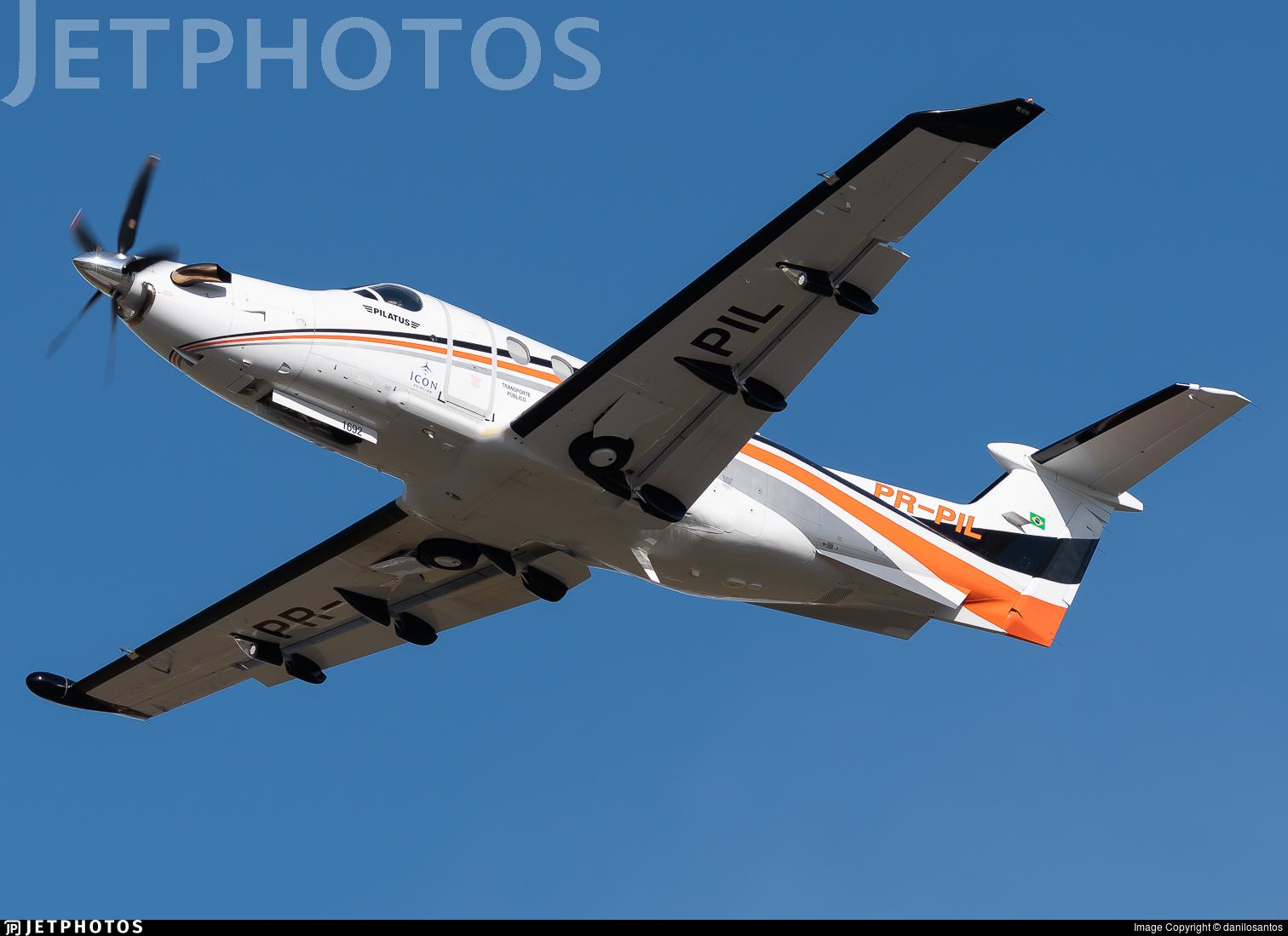 PR-PIL - Pilatus PC-12/47E - Icon Aviation
