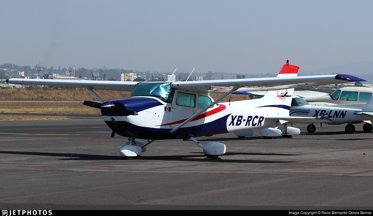 XB-RCR - Cessna 172 - ITAC - Escuela de Aviación