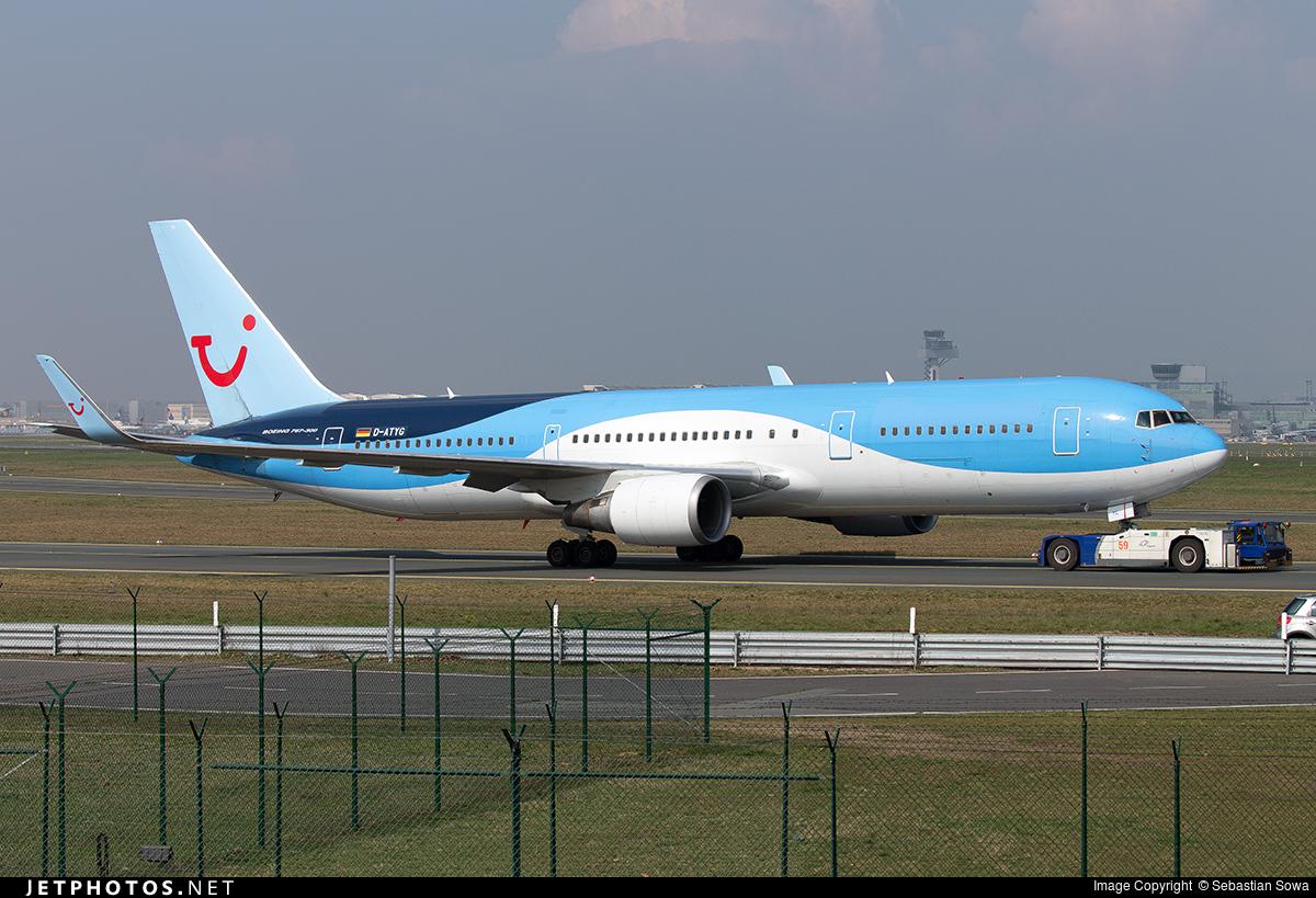 D-ATYG - Boeing 767-304(ER) - TUI