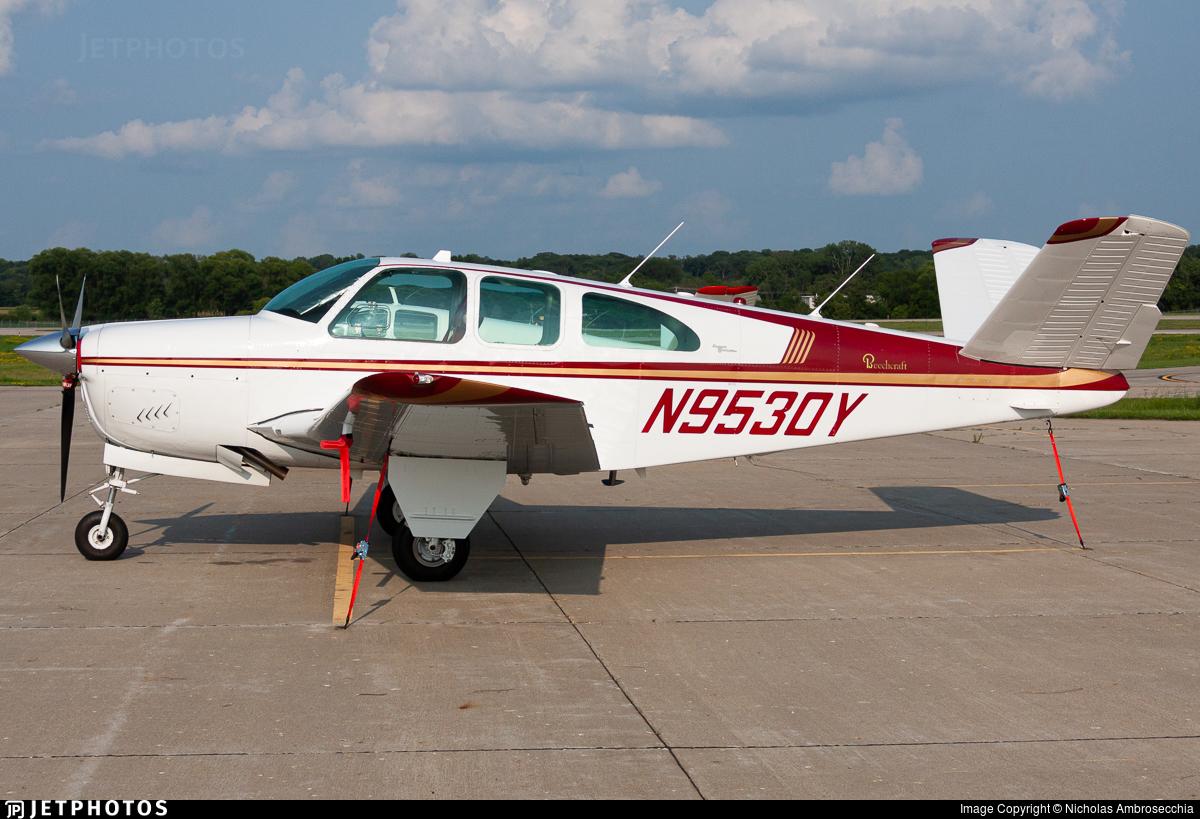 N9530Y - Beechcraft P35 Bonanza - Private